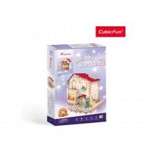 PUZZLE 3D LED CASA DE VACANTA 116 PIESE