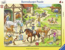 Puzzle Ferma Tip Rama, 40 Piese