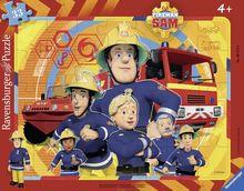 Puzzle Pompier Sam, 33 Piese