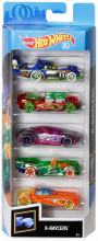 Set 5 Masini Hot Wheels X Raycers