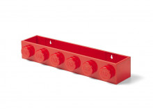 Suport LEGO pentru carti - Rosu