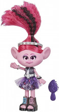 Trolls Papusa Poppy Rock Style Deluxe Fashion