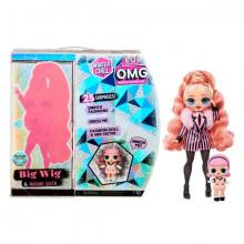 Papusa L.O.L Surprise OMG Winter Chill Big Wig si sora ei Madame Queen