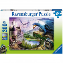 PUZZLE CASTEL SI DRAGONI, 200 PIESE