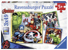 Puzzle marvel avengers 3x49 piese