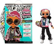 Papusa L.O.L Surprise Outrageous Millennial Guys - Cool Lev
