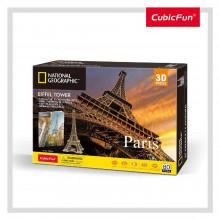 PUZZLE 3D+BROSURA-PARIS 80 PIESE