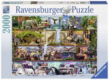 Puzzle Animale, 2000 piese