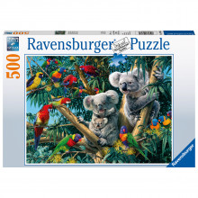 PUZZLE KOALA IN COPAC, 500 PIESE