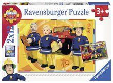 Puzzle Pompier Sam, 2X12 Piese