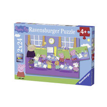 PUZZLE PURCELUSA PEPPA, 2x24 PIESE