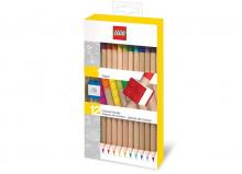 Set 12 creioane colorate LEGO