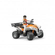 BRUDER - ATV CU SOFER