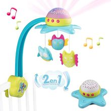 CARUSEL MUZICAL SMOBY COTOONS STAR 2 IN 1