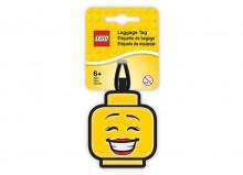 Eticheta bagaje cap minifigurina LEGO fata