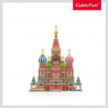 PUZZLE 3D+BROSURA-MOSCOVA 224 PIESE