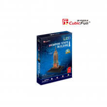 PUZZLE 3D LED EMPIRE STATE BUILDING 38 PIESE