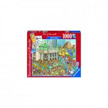 PUZZLE FLEROUX RIO DE JANEIRO, 1000 PIESE