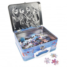 Set 2 Puzzle-uri Frozen 2 in gentuta metalica