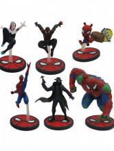 Set figurine Spider Man