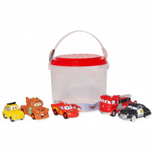 Set Masinute de baie Die Casts - Cars 3
