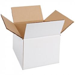Cutie de carton alba cu 3 straturi