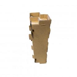 Cutie carton transport 1/2/3/4/6 sticle insert fagure