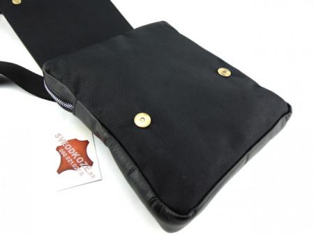 Muška torba na preklop crna