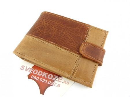 Muški kožni novčanik m3 kantri