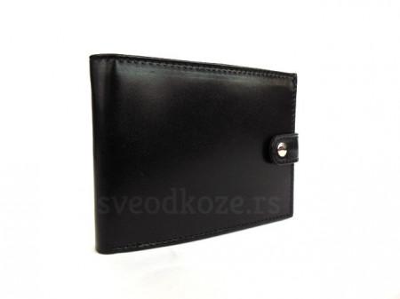 Kožni novčanik 6 crni