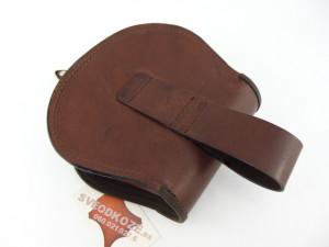 Kožna moto torbica na kaiš Ride Forever braon