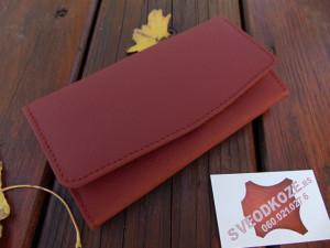Ženski kožni novčanik 1 crvena cigla