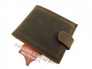 Muški kožni novčanik 5 Kantri sa kopče