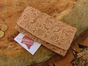 Ženski kožni novčanik 1 art bež