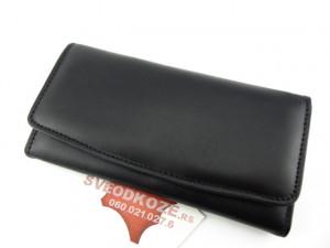 Ženski kožni novčanik 1 crni