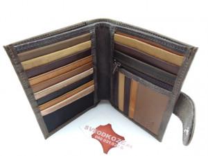 King Size šareni novčanik za kartice, pasoš, papirni i gvozdeni novac