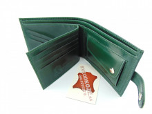 Kožni novčanik 6 zeleni