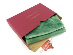 Ženski kožni novčanik 1 zeleni art