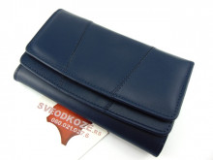 Ženski kožni novčanik 2 teget
