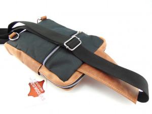 Muška torba preko grudi braon