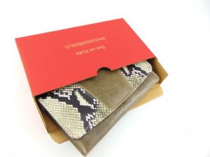 Ženski kožni novčanik 1 zmija