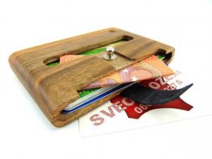 Drveni novčanik futrola orah viking