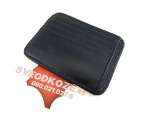 Držač za kartice i novac card holder crni