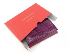 Ženski kožni novčanik Moderna ljubičasti