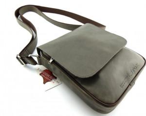 Muška kožna torbica 112 siva