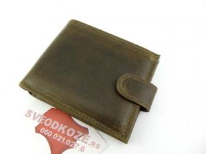 Muški kožni novčanik 5 zeleni