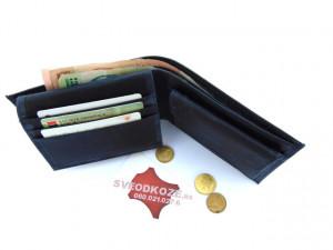 Tanki muški kožni novčanik sa dodatkom za kartice džins