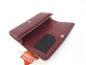 Ženski kožni novčanik 1 bordo