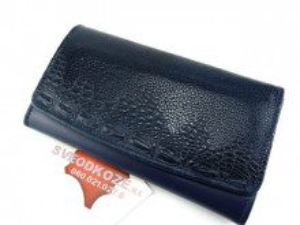 Ženski kožni novčanik 7 teget koral