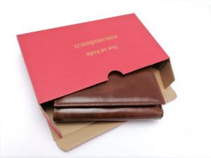 Ženski kožni novčanik Moderna klasik braon
